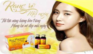 collagen dạng nước Collagen Rye Placenta with drink